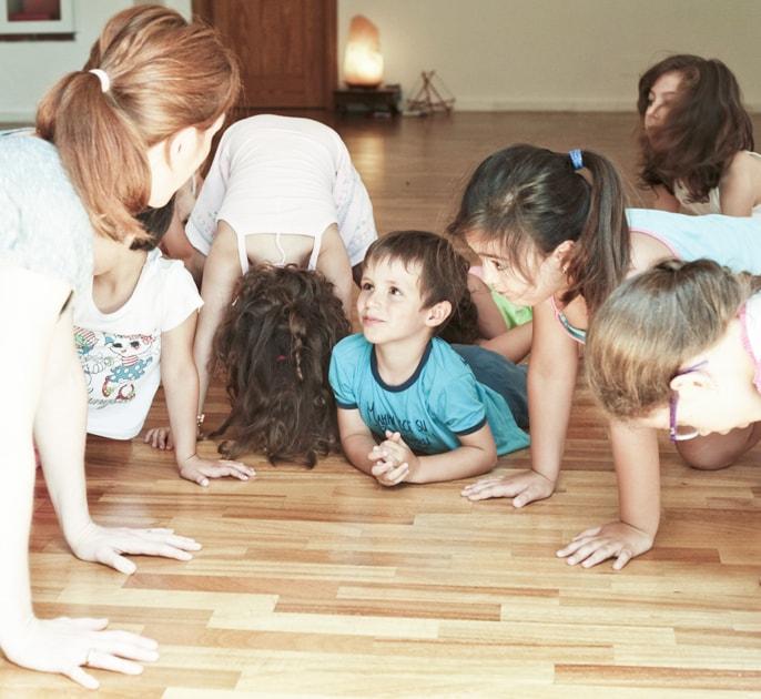 agricola samadhi la struttura attività per bambini yoga baby